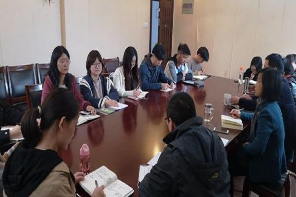 我系举办2020-2021第一学期期中教学检查师生座谈会